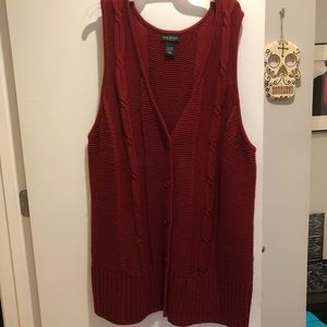 Lane Bryant Sweater Vest dress Size 22/24 W